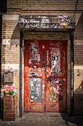 Chelsea Prints - Red Door Print by Peter Verdnik