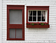 Barbara McMahon - Red Door Red Window