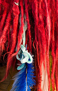 Dreadlock Posters - Red Dreads Poster by Rick Piper Photography