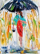 Karen Tarlton - Red Dress in the Rain