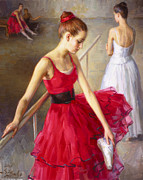Serguei Zlenko - Red Dress