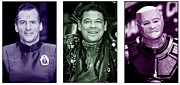 Red Dwarf Prints - Red Dwarf 15 Print by Jez C Self