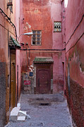 Moroccan Photos - Red End by Mick House