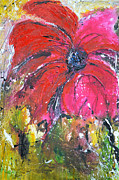 Ismeta Gruenwald - Red Flower - Abstract...