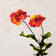 Mary Kay Holladay - Red Flowers
