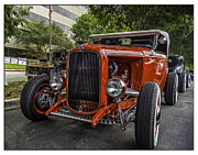 Steve Benefiel - Red Ford Roadster