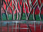 Deyanira Harris - Red Forest