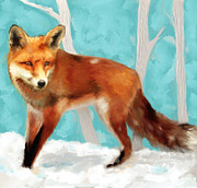 Featured Art - Red Fox by Enzie Shahmiri
