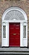 Jane McIlroy - Red Georgian Door - Dublin - Ireland
