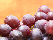 Diet Prints - Red Grapes Print by Wim Lanclus