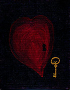 Lynn-Marie Gildersleeve - Red Heart and Golden Key