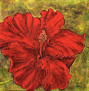 Nancy Jolley - Red Hibiscus