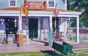 Antiques Paintings - Red Lion Antiques by Karol Wyckoff