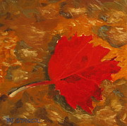 Patrick ODriscoll - Red Maple Leaf