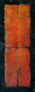 Rothko Painting Originals - Red Meiosis 4cell by Kaata    Mrachek