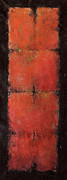 Rothko Painting Originals - Red Meiosis  8Cells by Kaata    Mrachek