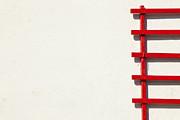 Karol  Livote - Red On White