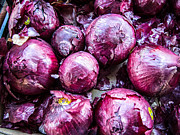 Supermarket Originals - Red Onions by Rafael Gonzalez