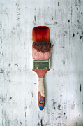 Paintbrush Photo Posters - Red Paint Poster by Joana Kruse