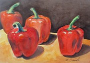 Melinda Saminski - Red Peppers