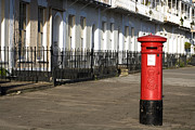 Pillar Box Prints - Red Pillar Box Print by Don Hooper
