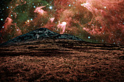 Carina Nebula Prints - Red Planet Print by Semmick Photo