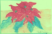 Thelma Harcum - Red Poinsettia  Bouquet