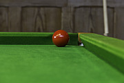 Ashish Agarwal - Red pool ball on a pool...