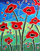 Cynthia Snyder - Red Poppies 2