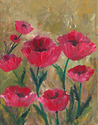 Bev Veals - Red Poppies