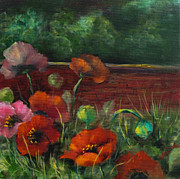 Elaine Bailey - Red Poppy Garden