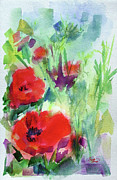 Ginette Callaway - Red Poppy Heads
