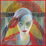 Alicja Coe - Red Portrait