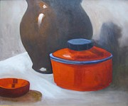 Barbara Haviland - Red Pot Still Life