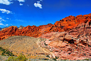 Red Rock Canyon Print by Mariola Bitner