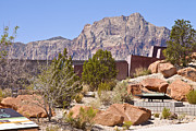 Red Rock Canyon Visitor Center Nevada. Print by Gino Rigucci