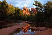 Red Rock Crossing Framed Prints - Red Rock Crossing Sedona Arizona Framed Print by Susan Rovira