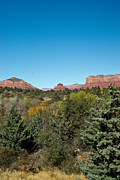 Oak Creek Prints - Red Rock Formation Sedona Arizona 19 Print by Douglas Barnett