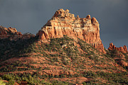 Wendi Evans Art - Red Rock Formation by Wendi Evans