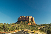 Cathedral Rock Photos - Red Rock Mesa Sedona Arizona 1 by Douglas Barnett