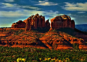 Red Rock State Park Arizona Sunrise Print by Nadine and Bob Johnston