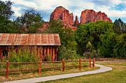 Picket Fences Posters - Red Rock State Park Poster by Jeffrey Campbell
