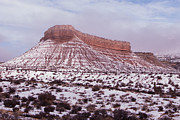 Robert Ford - Red Rocks and Snow at...