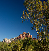 Red Rock Photos - Red Rocks Oak Creek Canyon Sedona 3 by Douglas Barnett