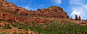 Cloudscape Framed Prints - Red Rocks of Sedona  Framed Print by Amy Cicconi