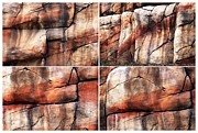 Photo Collage Prints - Red Rocks of Sedona Print by John Rizzuto