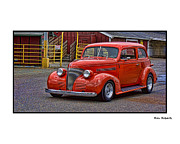 Ron Roberts Photography Framed Prints - Red Rod Framed Print by Ron Roberts