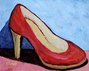 Melinda Etzold - Red Shoe