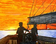 Bill Hubbard - Red Sky at Night a Sailor