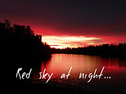 Jennifer Kimberly - Red sky at night